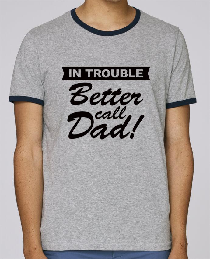 Camiseta Bordes Contrastados Hombre Stanley Holds Better call dad pour femme por Freeyourshirt.com