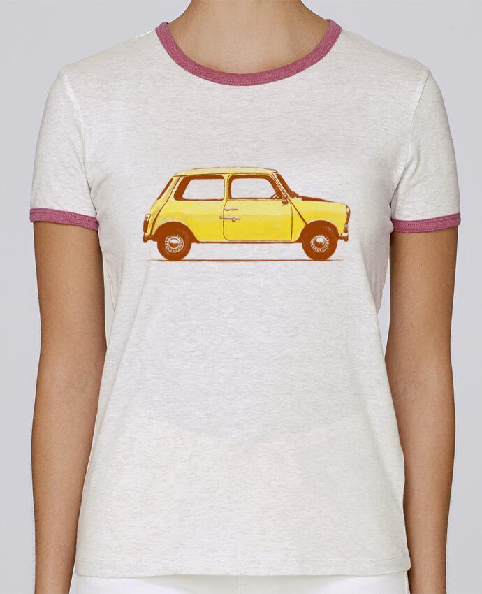 Camiseta Mujer Stella Returns Yellow Van pour femme por Florent Bodart