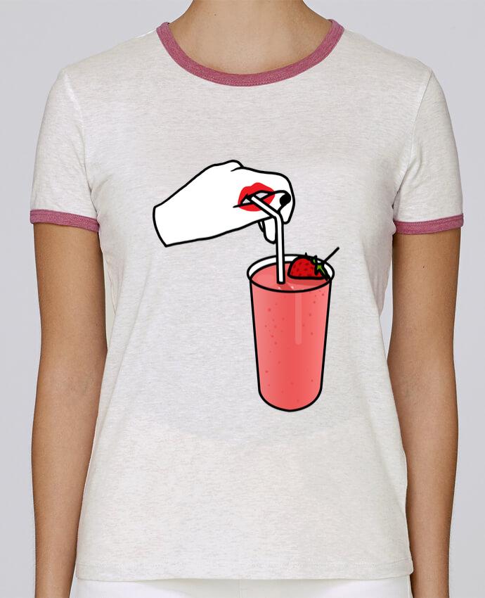 Camiseta Mujer Stella Returns Milk shake pour femme por tattooanshort