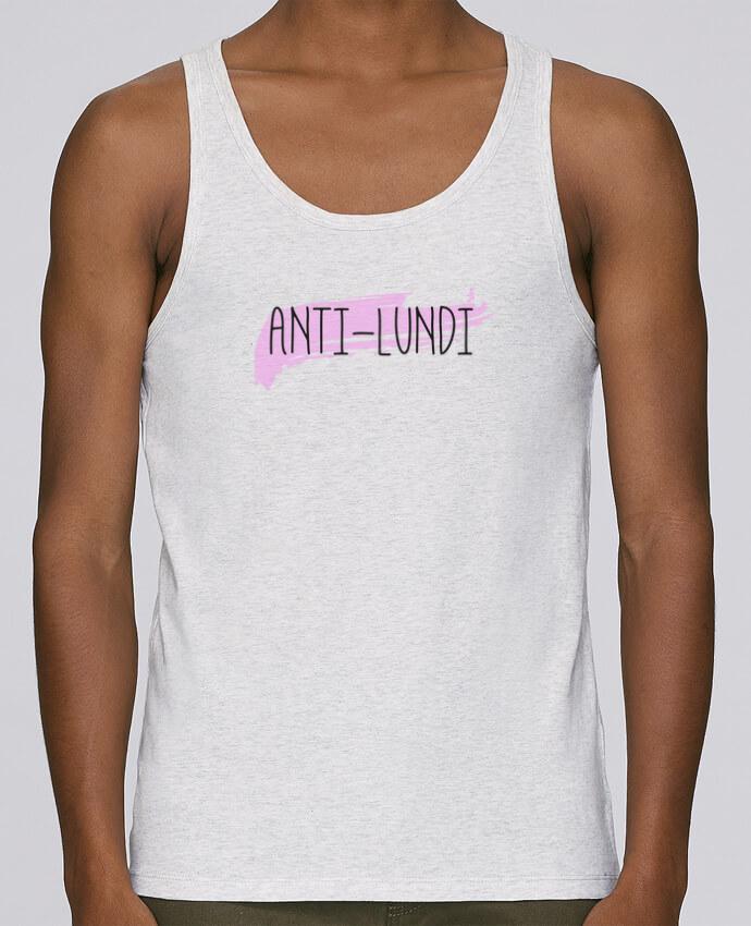 Camiseta de tirantes algodón orgánico hombre Stanley Runs Anti-lundi por tunetoo 100% coton bio