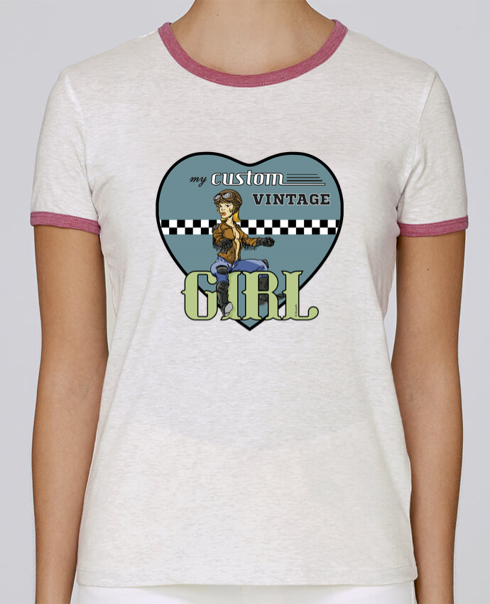 Camiseta Mujer Stella Returns My custom vintage girl pour femme por BRUZEFH
