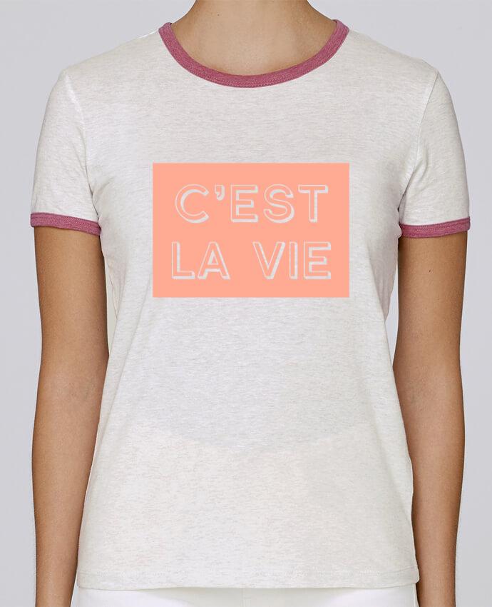 Camiseta Mujer Stella Returns C'est la vie pour femme por tunetoo