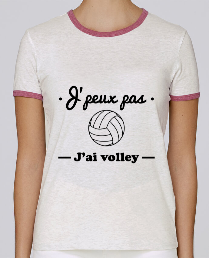 Camiseta Mujer Stella Returns J'peux pas j'ai volley , volleyball, volley-ball pour femme por Benichan