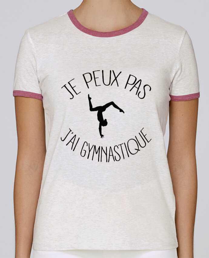 Camiseta Mujer Stella Returns Je peux pas j'ai gymnastique pour femme por Freeyourshirt.com