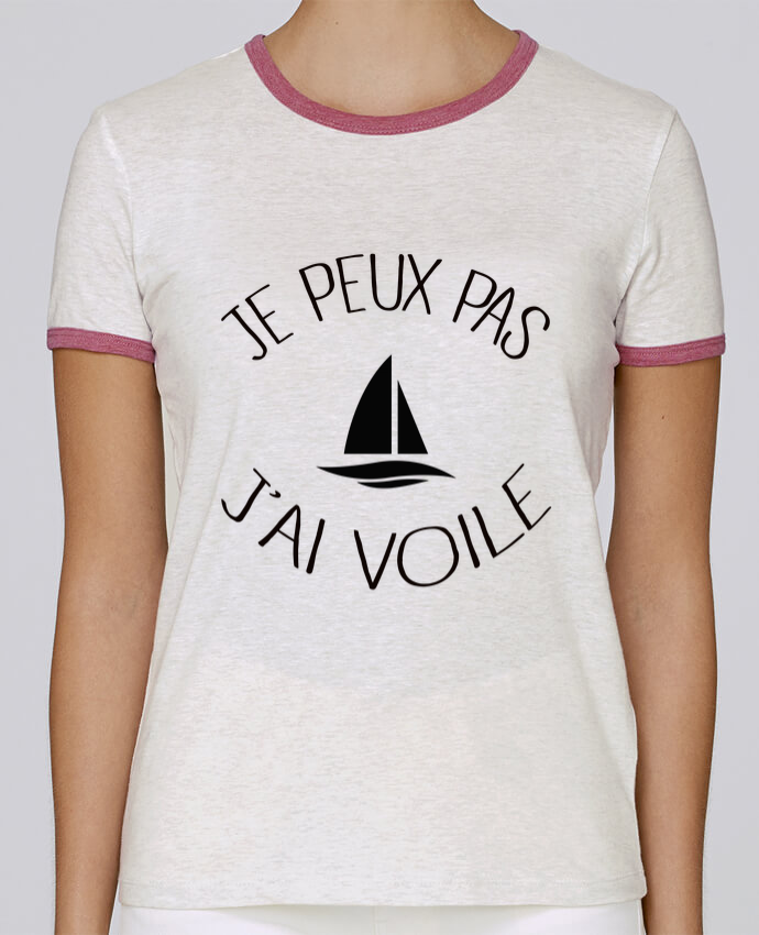 Camiseta Mujer Stella Returns Je peux pas j'ai voile pour femme por Freeyourshirt.com