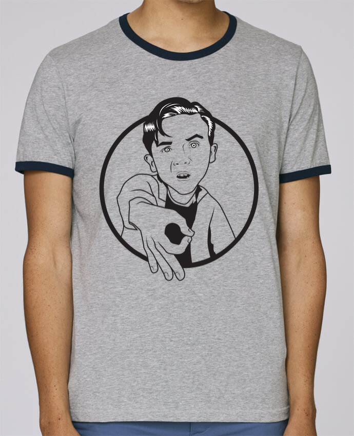 Camiseta Bordes Contrastados Hombre Stanley Holds Malcolm, jeu de l'oeil pour femme por tunetoo