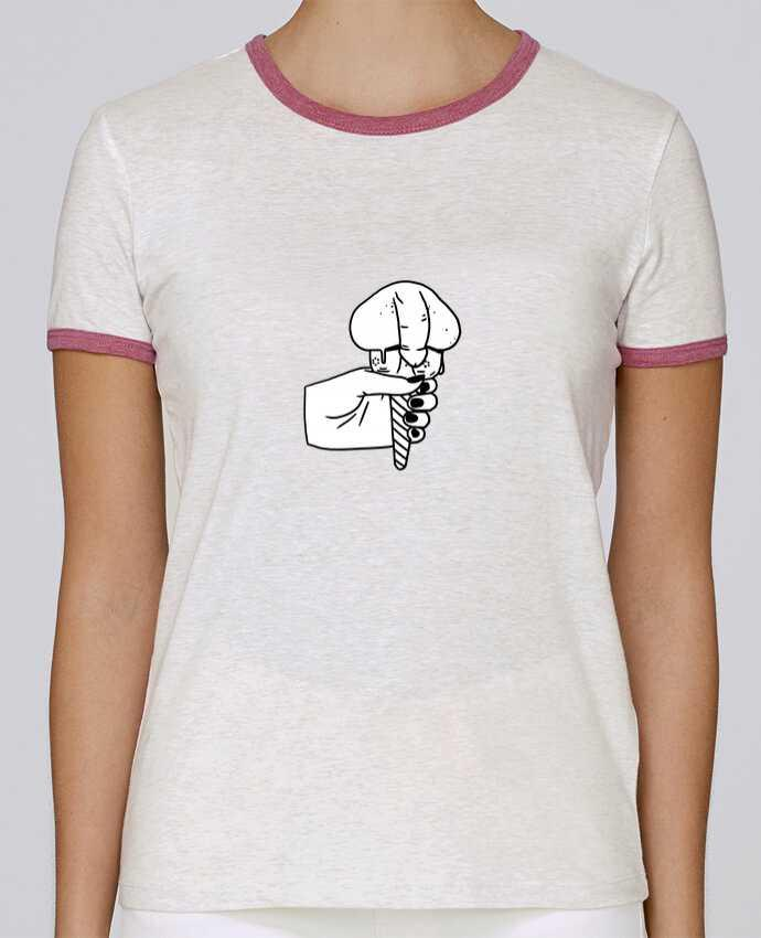Camiseta Mujer Stella Returns Ice cream pour femme por tattooanshort