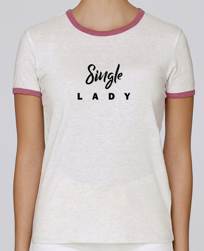 Camiseta Mujer Stella Returns Single lady pour femme por tunetoo