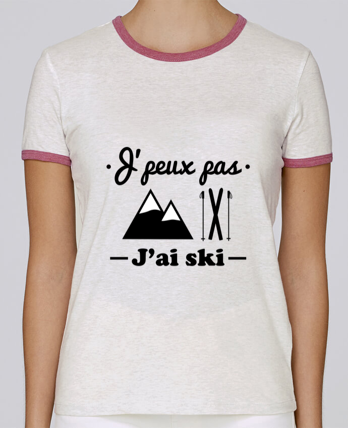 Camiseta Mujer Stella Returns J'peux pas j'ai ski pour femme por Benichan