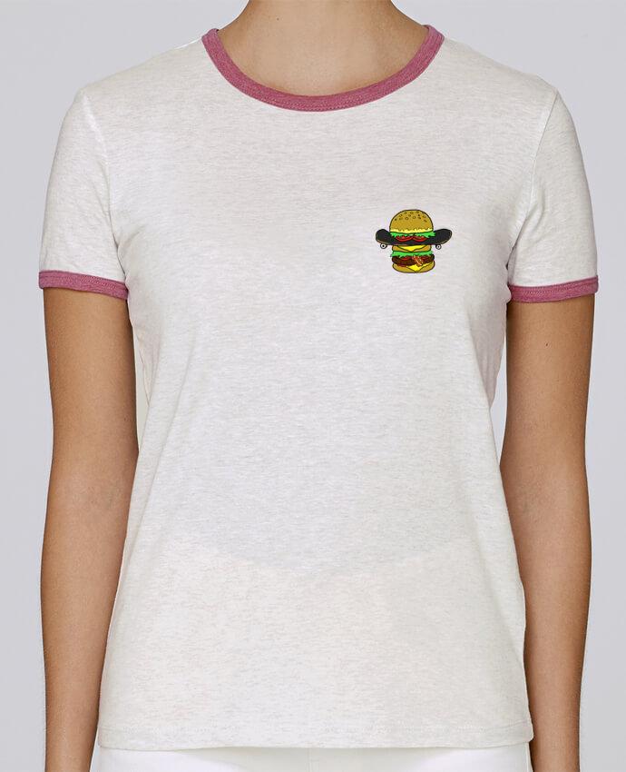 Camiseta Mujer Stella Returns Skateburger pour femme por Salade