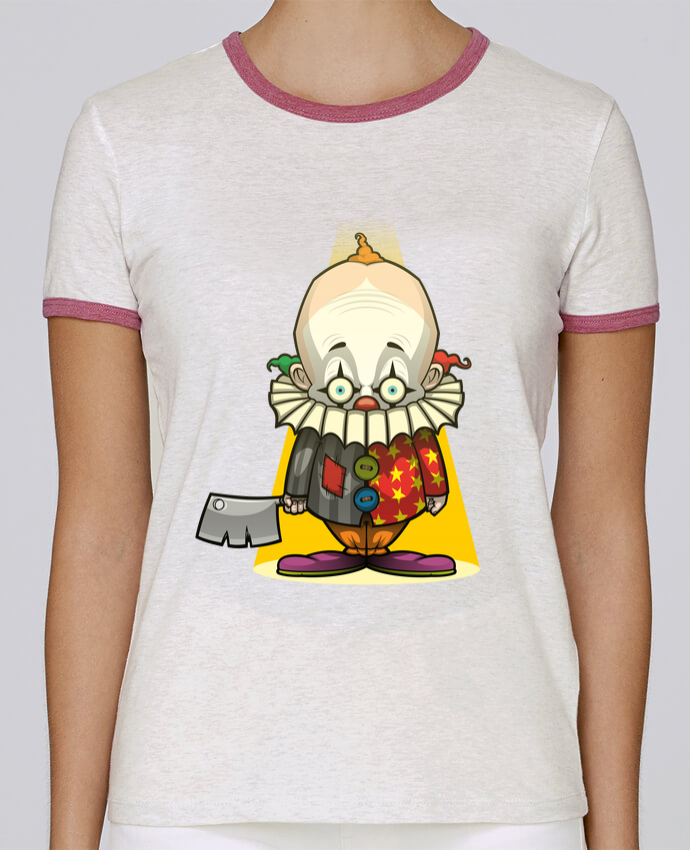 Camiseta Mujer Stella Returns Choppy Clown pour femme por SirCostas