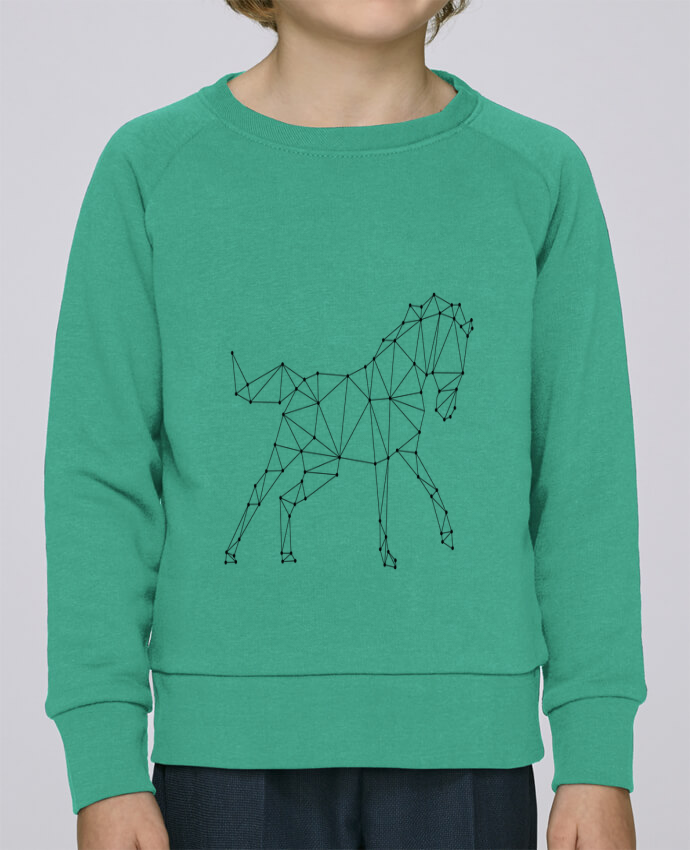 Sudadera Cuello Redondo Niño Stanley Mini Scouts horse - géométrique por /wait-design