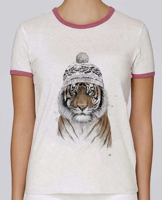 Camiseta Mujer Stella Returns Siberian tiger pour femme por Balàzs Solti