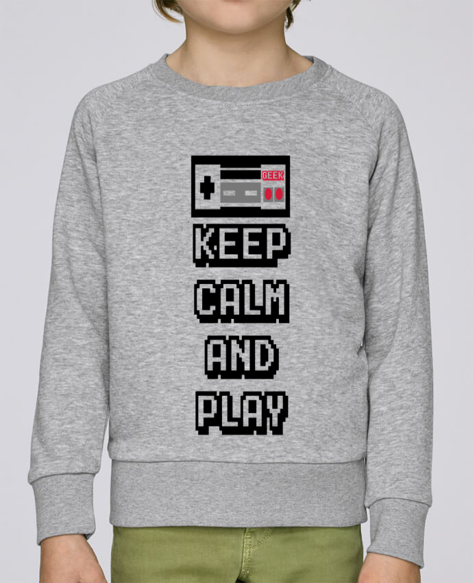 Sudadera Cuello Redondo Niño Stanley Mini Scouts KEEP CALM AND PLAY por SG LXXXIII