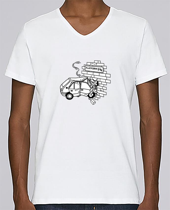 Camiseta Hombre Cuello en V Stanley Relaxes 205 por tattooanshort