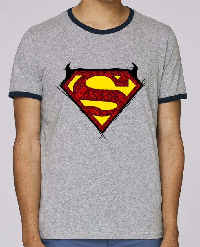 Camiseta Bordes Contrastados Hombre Stanley Holds Super Fiché pour femme por Dontuch