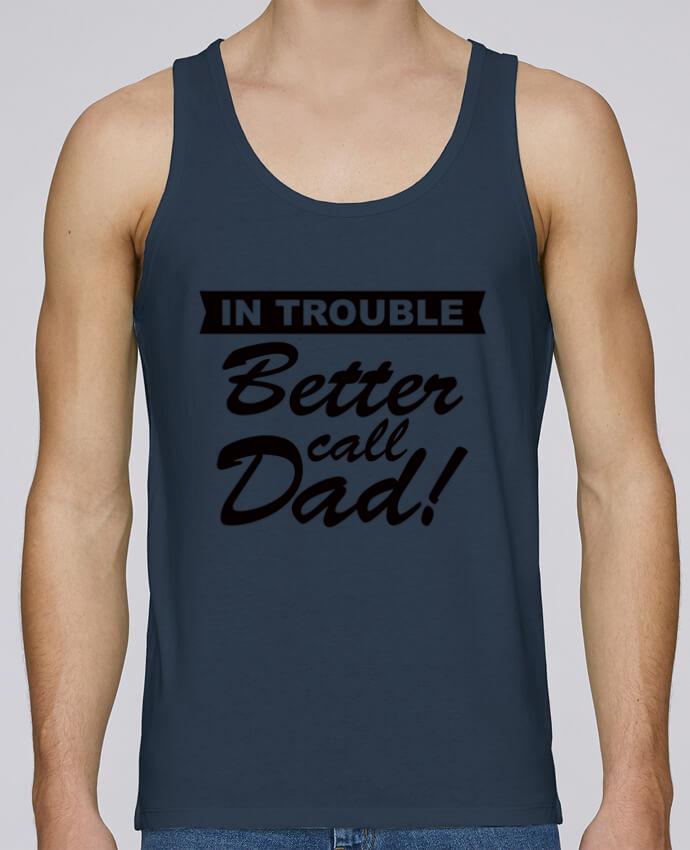 Camiseta de tirantes algodón orgánico hombre Stanley Runs Better call dad por Freeyourshirt.com 100% coton bio