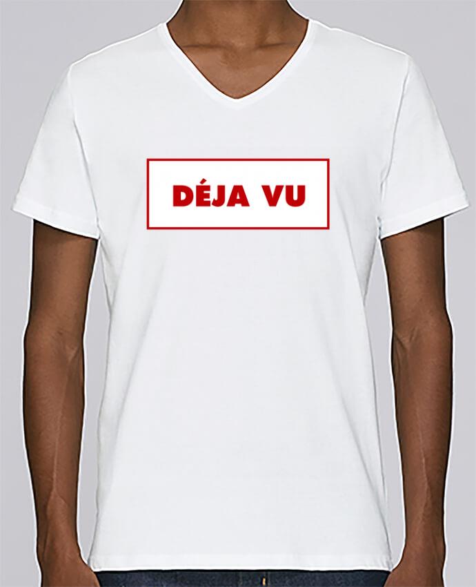Camiseta Hombre Cuello en V Stanley Relaxes Déjà vu por tunetoo