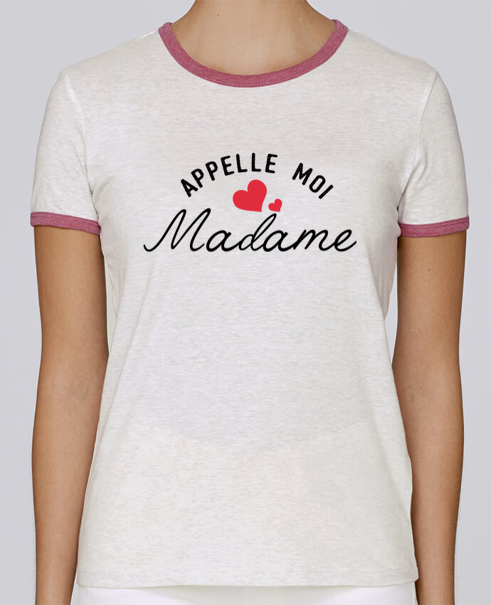 Camiseta Mujer Stella Returns Appelle moi madame pour femme por tunetoo