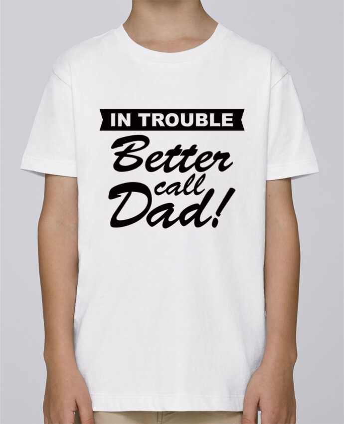 Camiseta de cuello redondo Stanley Mini Paint Better call dad por Freeyourshirt.com