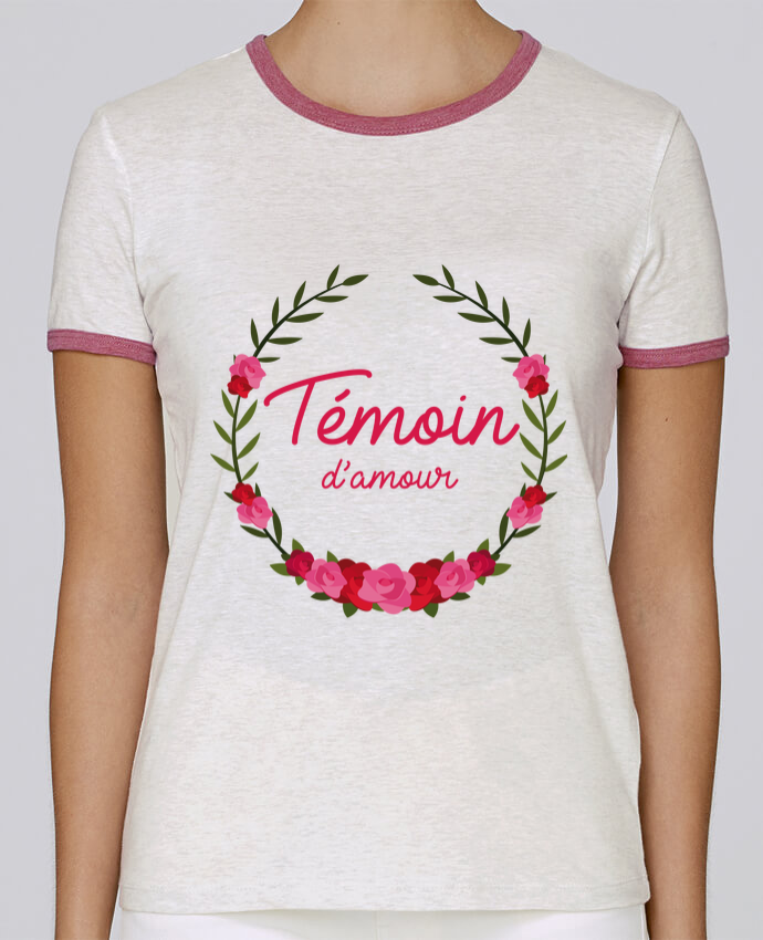Camiseta Mujer Stella Returns Témoin d'amour pour femme por FRENCHUP-MAYO