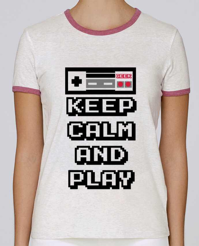 Camiseta Mujer Stella Returns KEEP CALM AND PLAY pour femme por SG LXXXIII