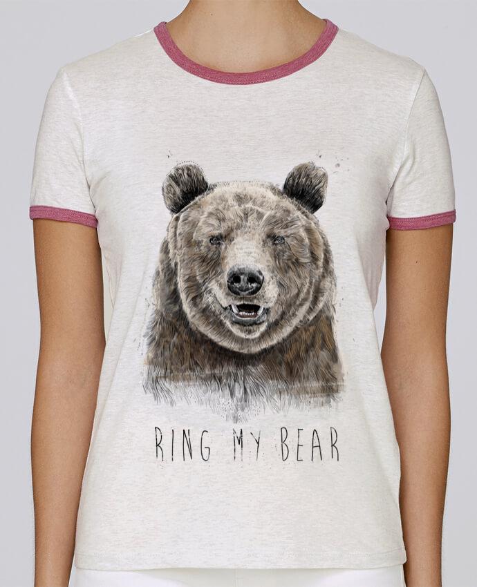 Camiseta Mujer Stella Returns Ring my bear pour femme por Balàzs Solti