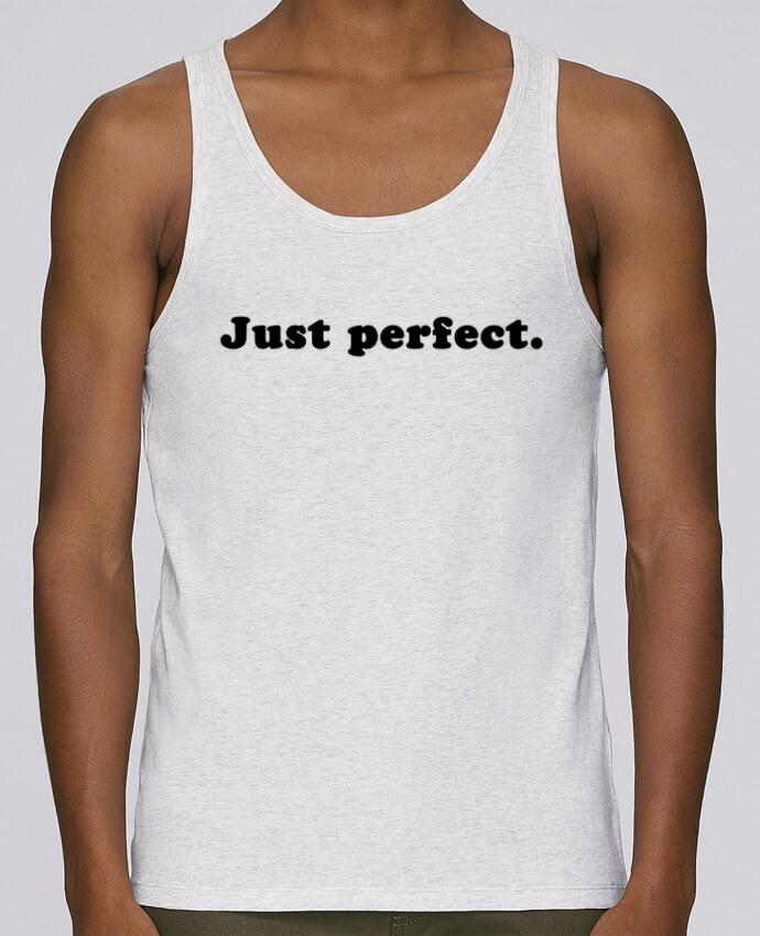 Camiseta de tirantes algodón orgánico hombre Stanley Runs Just perfect por Les Caprices de Filles 100% coton bio