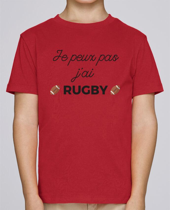 Camiseta de cuello redondo Stanley Mini Paint Je peux pas j'ai Rugby por Ruuud