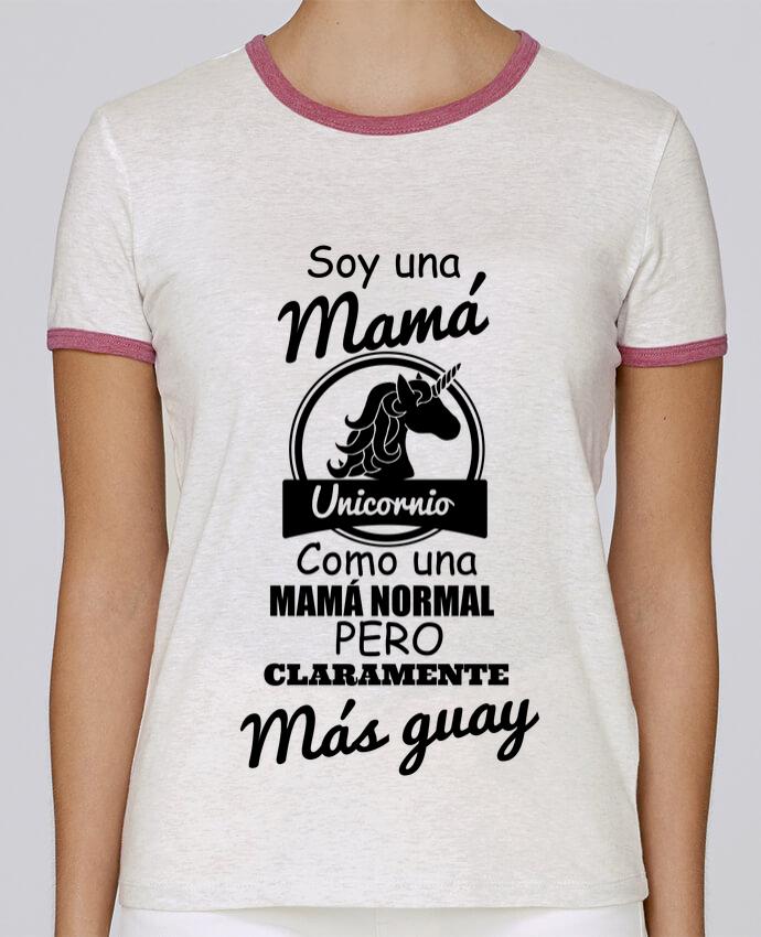Camiseta Mujer Stella Returns Mamá unicornio pour femme por tunetoo