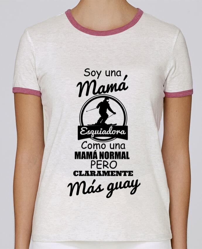 Camiseta Mujer Stella Returns Mamá esquiadora pour femme por tunetoo