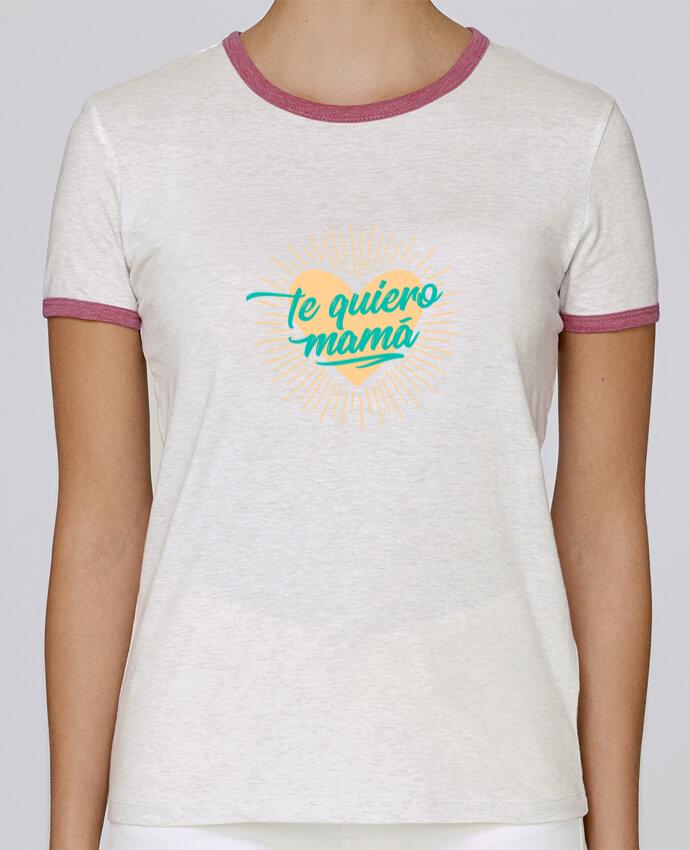Camiseta Mujer Stella Returns te quiero mamá pour femme por tunetoo