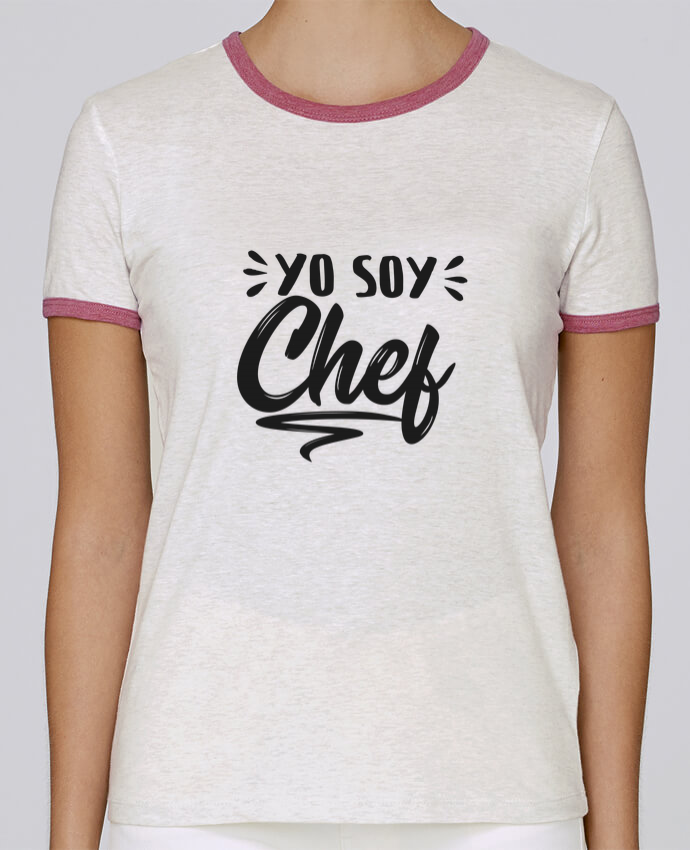 Camiseta Mujer Stella Returns soy chef pour femme por tunetoo