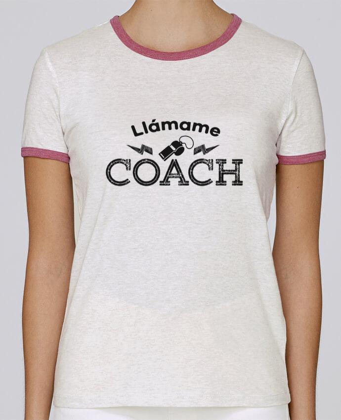 Camiseta Mujer Stella Returns Llámame Coach pour femme por tunetoo