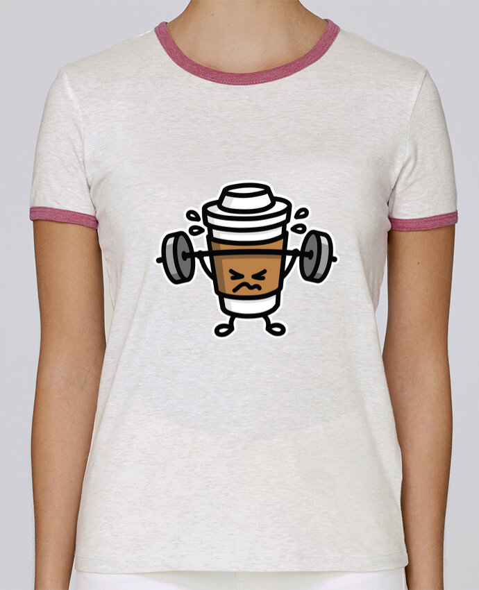Camiseta Mujer Stella Returns STRONG COFFEE SMALL pour femme por LaundryFactory