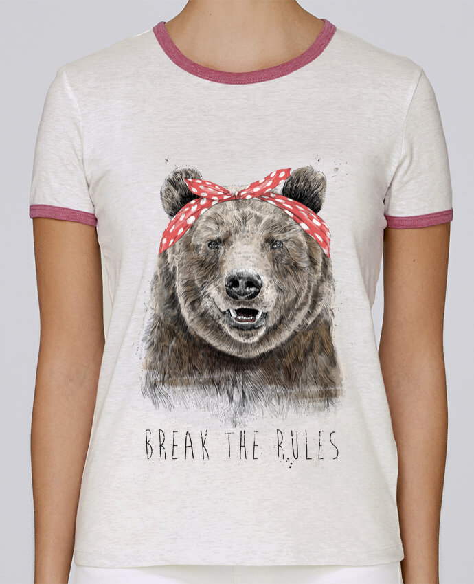 Camiseta Mujer Stella Returns Break the rules II pour femme por Balàzs Solti