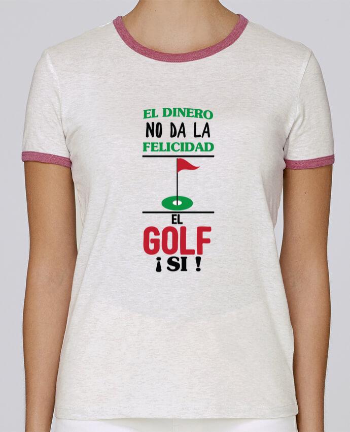 Camiseta Mujer Stella Returns El dinero no da la felicidad, el golf si ! pour femme por tunetoo