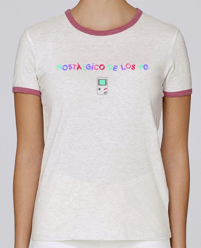 Camiseta Mujer Stella Returns Nostálgico de los 90s Gameboy pour femme por tunetoo