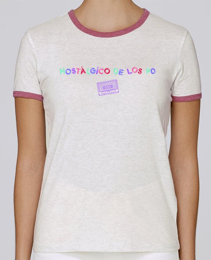 Camiseta Mujer Stella Returns Nostálgico de los 90 Casete pour femme por tunetoo