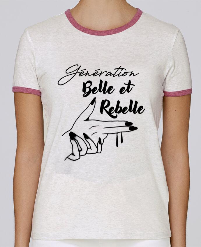 Camiseta Mujer Stella Returns génération belle et rebelle pour femme por DesignMe