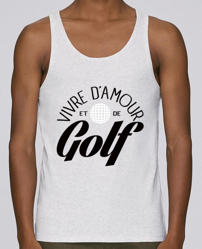 Camiseta de tirantes algodón orgánico hombre Stanley Runs Vivre d'Amour et de Golf por Freeyourshirt.com 100% coton bio