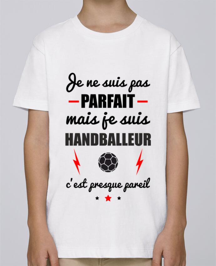 Camiseta de cuello redondo Stanley Mini Paint Je ne suis pas porfait mais je suis handballeur c'est presque poreil por Benichan