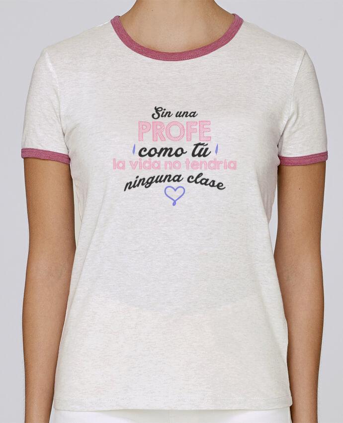 Camiseta Mujer Stella Returns Regalo profesores profe pour femme por tunetoo