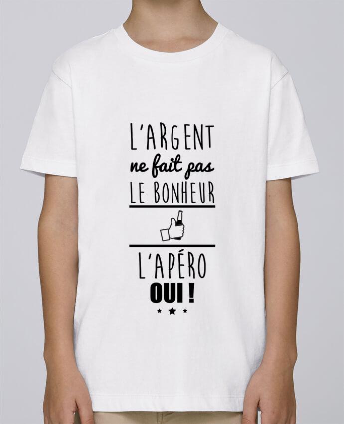 Camiseta de cuello redondo Stanley Mini Paint L'argent ne fait pas le bonheur l'apéro oui ! por Benichan