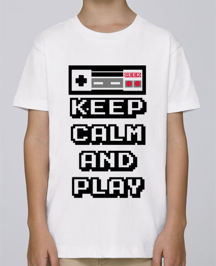 Camiseta de cuello redondo Stanley Mini Paint KEEP CALM AND PLAY por SG LXXXIII