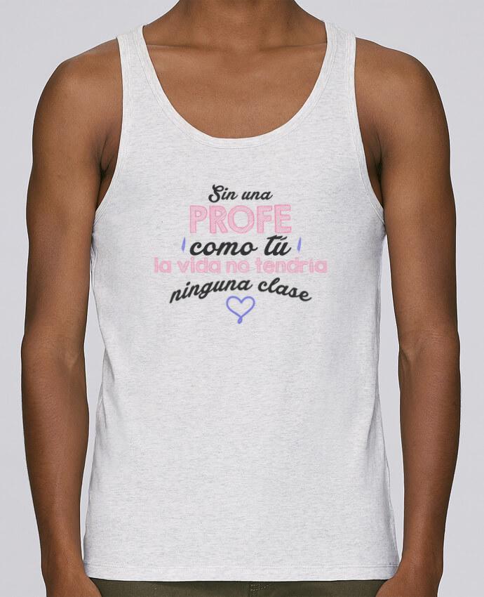 Camiseta de tirantes algodón orgánico hombre Stanley Runs Regalo profesores profe por tunetoo 100% coton bio