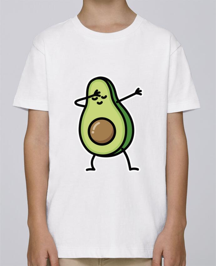 Camiseta de cuello redondo Stanley Mini Paint Avocado dab por LaundryFactory