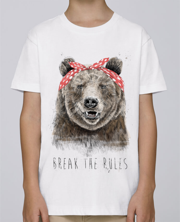Camiseta de cuello redondo Stanley Mini Paint Break the rules II por Balàzs Solti
