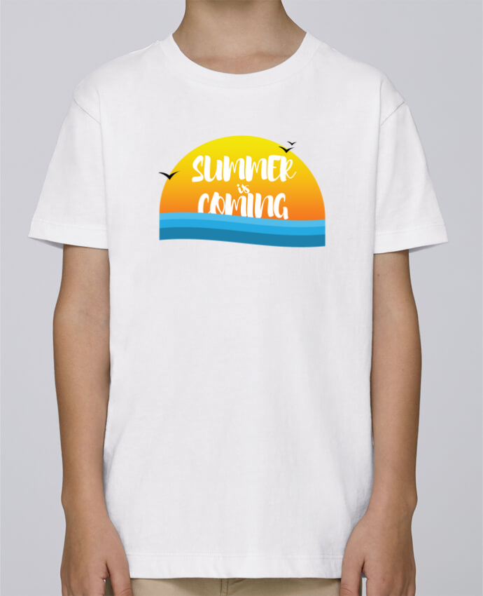 Camiseta de cuello redondo Stanley Mini Paint Summer is coming por tunetoo