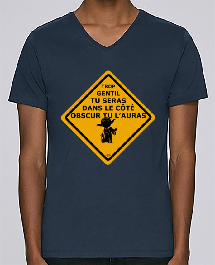 Camiseta Hombre Cuello en V Stanley Relaxes Yoda - Star Wars por Rtom13